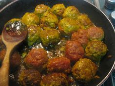 Spanish 13th century meatball recipe
