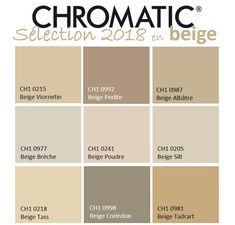 The palette of beiges includes many shades always authentic inspired by nature: sand, straw, raw wood … www.chromati … - New Deko Sites Beige Color Palette, Beige Kitchen, Pintura Exterior, Beige Living Rooms, Raw Wood, Freundlich, Bottle Design, Colour Schemes, Exterior Paint