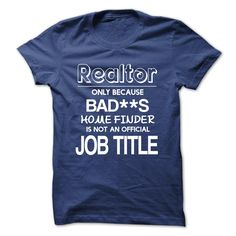 Cool Realtor T Shirt