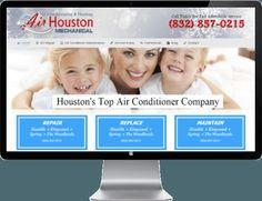 AC Repair Website Designs Houston | SEO Website Designs http://houstonairconditioner.net/air-conditioning-repair-humble-tx/