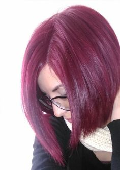 Violet red hair schwarzkopf 9-98