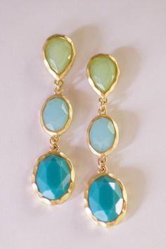 Greens & Blues Jewellery #fashion #chic