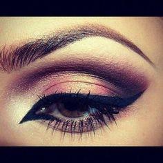 Gold & black #eyeshadow