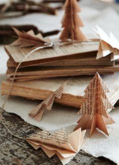 DIY: guirnalda de papel de peri�dico
