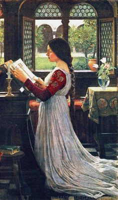 The Missal by John William Waterhouse