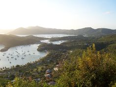 Antigua - English Harbour - The ebst place to be on a Sunday night