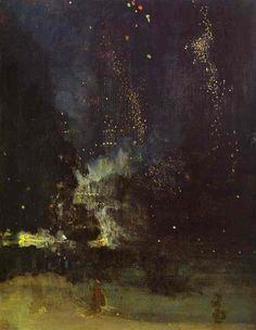 Whistler, Nocturne in Black and Gold: The Falling Rocket