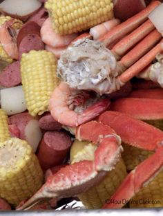 Low Country Shrimp and Crab Boil