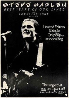Steve Harley, Press Release, Rebel, Album, Music, Cover, Movie Posters, Life, Musica