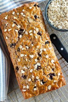 oatmeal bread blueberry oatmeal bread whole grain oatmeal quick bread ...