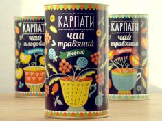 Tea Package Design in National Traditional Style on Packaging Design Served PD