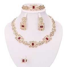 Moochi 18K Gold Plated Red Square Zircon Stone Necklace E... https://www.amazon.com/dp/B01BWJCP3M/ref=cm_sw_r_pi_dp_x_xPNQxbSR6XNED