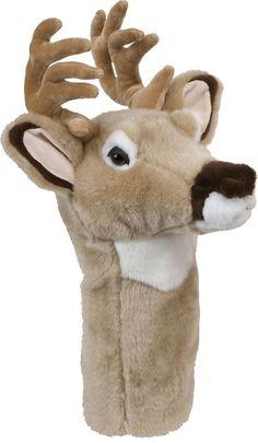 Deer Golf Animal Headcover - Driver Head Cover Daphnes Golf Club Cover #DaphnesHeadcovers