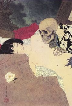 Strange Loves: Death and the Maiden from Coffin of a...