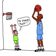 Cartoon Basketball   Cartoon: Basketball (medium) by Pascal Kirchmair tagged aussichtslos ...
