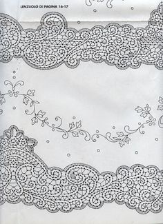 Disegni Cantù da riviste varie (Bolillos) Needle Lace, Bobbin Lace, Lacemaking, Point Lace, Hand Embroidery, Tapestry, Album, Crochet, Crafts