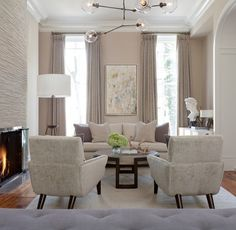 Brooklyn Brownstone contemporary living room