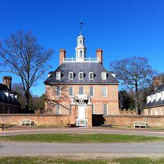 Beautiful Governor's Palace by melissacarp via Instagram.