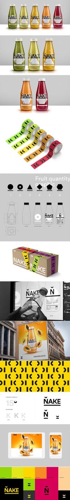 Nake Cold-Pressed Juice — The Dieline - Branding & Packaging Design