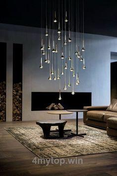 New Home Lighting Modern Chandeliers Ideas Living Room Light Fixtures, Modern Light Fixtures, Living Room Lighting, Kitchen Lighting, Bathroom Lighting, Modern Lighting Design, Cool Lighting, Lighting Stores, Pendant Lighting