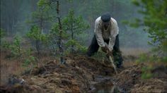 """Many acts were made between to unite the people. Land act of 1918 allowed tenant farmers to purchase land. Picture of the iconic tenant farmer Jussi from the movie """"Täällä Pohjantähden alla"""" by Väinö Linna Finland History Timeline, Present Day, Finland, Superhero, Tv, Movies, Pictures, Painting, Fictional Characters"""