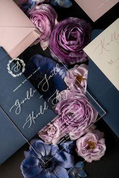 WEDDING INVITATIONS calligraphy 01-ACGN-z #weddinginvitation