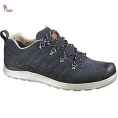 Ultra LTR, Chaussures de Randonnée Basses Homme, Noir (Magnet/Black/Pine Green), 44 2/3 EUSalomon