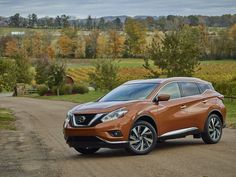 The 2017 Nissan Murano is smooth and polished—and that may be just the ticket for buyers who want a high seating position and the availability of all-wheel drive. Find out why the 2017 Nissan Murano is rated by The Car Connection experts. Car Buying Guide, Car Guide, Nissan Murano 2016, Large Suv, Compare Cars, Gmc Terrain, Hyundai Cars, Crossover Suv, Nissan Rogue