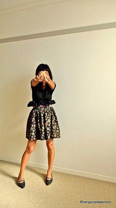 Easy full skirt