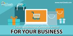 Create a professional eCommerce website for your business