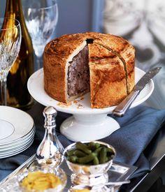 Australian Gourmet Traveller recipe for pork and fennel raised pie.