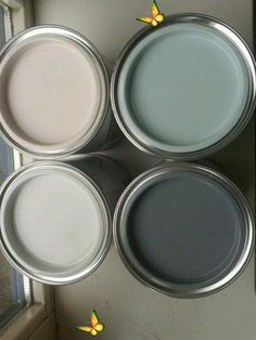 beenbifunow ▷ 1001 + ideas about color combinations with gray in the apartment -  decorate gray wall paint with decorative colors, pink, dark and light gray, champagne paint, wall p - #about #apartment #color #combinations #DecoratingKitchen #DiningRoomDesign #Gray #ideas #ModernKitchenDesign<br> Wall Paint Colors, Paint Colors For Home, Room Colors, House Colors, Gray Painted Walls, Blue Walls, Paint Walls, Kitchen Wall Colors, Kitchen Paint