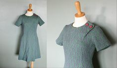Vintage 60s PAISLEY Scooter Dress  Women by bluebutterflyvintage, $18.00