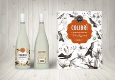 Before & After: Colibrí Chardonnay — The Dieline - Package Design Resource