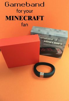 Gameband Minecraft™: the perfect gift for Minecraft fans! #GameOnTheGo #ad @mygameband