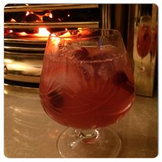 12 Days of Sweet Sally TeaCocktails � Day 12  Party Punch  A delicious Sweet Sally TeaCocktail that can be made for 1 or the entire party! Fresh cranberries give it a nice tartness. Serve over crushed ice and enjoy!