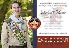 Eagle Invite idea from Gilmore Studios