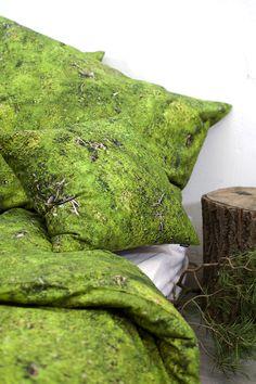 MOSS bedding / 100% cotton satin