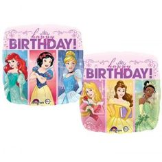 Anagram 17 inch Multi-Princess Dream Big HBD 2 Sided Balloon Go for an enchanting party that's fit for royalty. Make her feel like a princess when you surprise your adorable princess and add a touch of class to your venue with these elegant Multi-Princess Dream Big Square Balloon that features the lovely Disney Princesses in their glamour poses – Ariel, Snow White, Cinderella in one side and Aurora, Belle and Tiana on the other. You can add this to your balloon bouquet as centerpiece or…