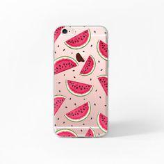 iPhone 6 Fall Wassermelone iPhone 6 s Fall klar von MargaritaCase