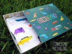 Diplo Dinosaur long sleeve T shirt in Organic Cotton - Thumbnail 2
