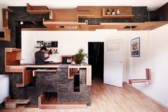 CIVIC architects - Wild piece of furniture - Tilburg | Photography © Pieter de Ruijter