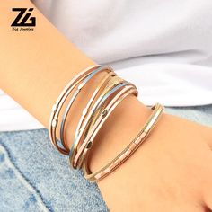$10.90 | Leather Bracelets For Women 2019 Ladies Boho Round Metal Charm Multilayer Wide Wrap Bracelet Female Femme Jewelry Outfit Accessories FromTouchy Style | Free International Shipping. Pandora Bracelets, Pandora Jewelry, Charm Jewelry, Jewelry Gifts, Little Girl Jewelry, Girls Jewelry, Teenager Fashion Trends, Custom Charms, Bff Gifts