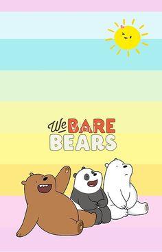 'We Bare Bears - Bears Colors iPhone Case by Viori We Bare Bears Wallpapers, We Bear, Bear Wallpaper, Iphone Wallpapers, Classic T Shirts, Iphone Cases, Cartoon, Random, Colors