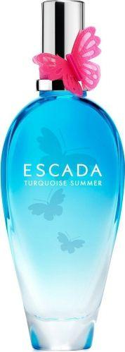 Escada Turquoise Summer Eau de Toilette ml), precio y características Flask, Fashion Bags, Perfume Bottles, Turquoise, Summer, 81, Beautiful, Beauty, Women