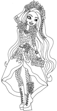 free ever after high coloring pages | 54 Best Ever After High Coloring Pages images | Coloring ...