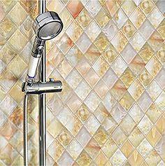 Mosaik Fliese selbstklebend Travertin Naturstein beige Kombination Travertin beige f/ür WAND DUSCHE K/ÜCHE FLIESENSPIEGEL THEKENVERKLEIDUNG Mosaikmatte Mosaikplatte