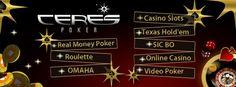 All online casino &  #poker  games at Cerespoker.com