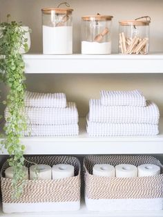 Pantry Organisation — Styled by Fliss Linen Closet Organization, Bathroom Organisation, Pantry Organisation, Kitchen Organization, Linen Cupboard, The Home Edit, Home Decor Inspiration, Home Interior Design, Room Decor