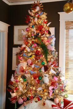 39363f966 All That Glitters Tree  Put a Bird on It. Christmas Tree  InspirationBeautiful Christmas TreesAunt ...